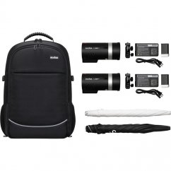 Godox AD300 PRO TTL Kit Dual set 2xAD300 + backpack