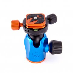 3 Legged Thing Equinox AirHead 360 Ballhead with dual strap connectors, Arca Swiss Compatible