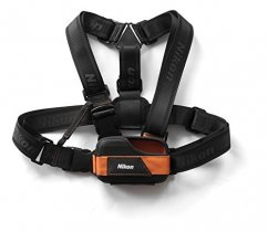 Chest mount for COOLPIX AW100/AW110/AW120 black/orange