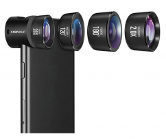 Momax X-Lens 4-in-1 Professional Lens Set Black
