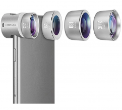 Momax X-Lens 4-in-1 Professional Lens Set Silver
