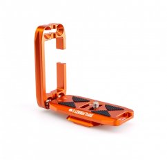 3 LEGGED THING ELLIE PD UNIVERSAL L-BRACKET WITH PEAK DESIGN CAPTURE-COMPATIBLE BASE - COPPER (ORANGE)
