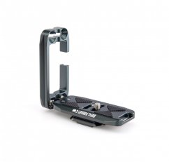 3 LEGGED THING ELLIE PD UNIVERSAL L-BRACKET WITH PEAK DESIGN CAPTURE-COMPATIBLE BASE - METALLIC SLATE (GREY)