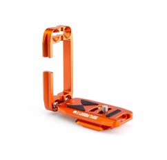 3 LEGGED THING ELLIE PD SHORT UNIVERSAL L-BRACKET WITH PEAK DESIGN CAPTURE-COMPATIBLE BASE - COPPER (ORANGE)
