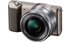 Sony a5100 + 16-50mm Kit Brown