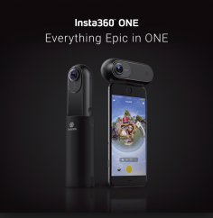 Insta360 One Panoramic Sports Camera