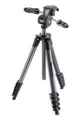 Manfrotto, COMPACT ADVANCED WITH 3-WAY HEAD BLACK