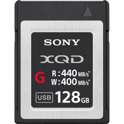 128GB Sony XQD Memory Card