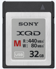 32GB Sony XQD Memory Card M Series