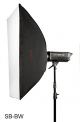 Godox Speedlite Softbox (80x120cm) Aluminium Ring Adapter Bowens mount LAOS OLEMAS