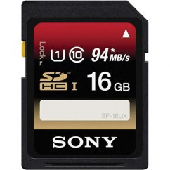 16GB Sony SD memory card