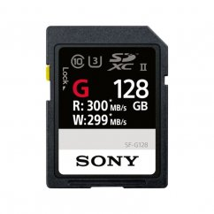 128GB Sony SD memory card