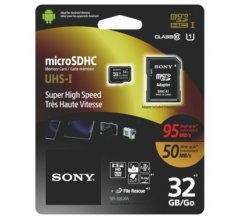 32GB Sony Micro SD memory card 95 / 50