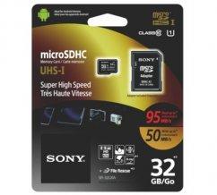45527deaa15 32GB Sony Micro SD memory card 95 / 50