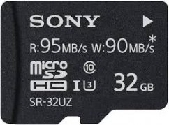 32GB Sony Micro SD memory card