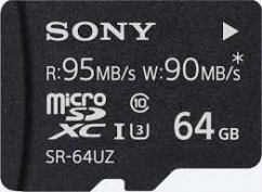 64GB Sony Micro SD Memory card