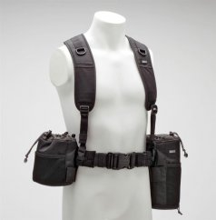 Think Tank Pixel Racing Harness V2.0, provides vertical support to Think Tank belts