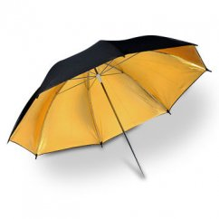 Godox Black And Gold Umbrella UB-002 40