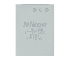 EN-EL8 RECHARGEABLE LI-ION BATTERY (S50/S51/S52)
