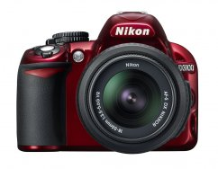 Nikon D3100 kit AF-S DX 18-55mm f/3.5-5.6G VR Red