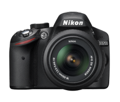 Nikon D3200 + 18–55mm VR II Black KIT