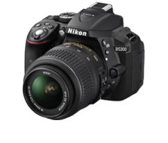 Nikon D5300 Kit +18-55mm VR II Black
