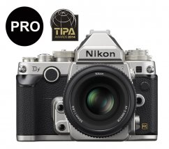 Nikon Df + AF-S 50mm f/1.8 Special Edition Silver