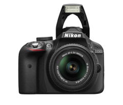 Nikon D3300 Kit 18-105mm VR Black