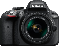 Nikon D3300 + AF-P 18-55mm VR KIT Black