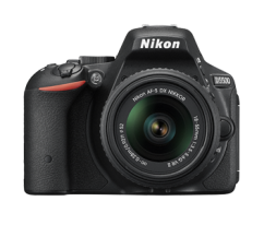 Nikon D5500 18-55VR II kit Black