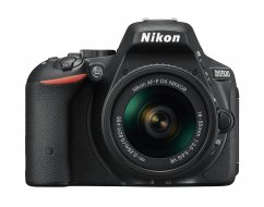 Nikon D5500 + AF-P 18-55mm VR Black KIT