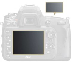 LCD protective film for D600