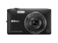 COOLPIX S3500 Black