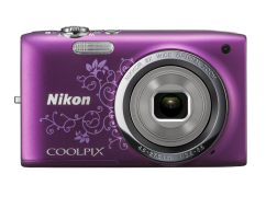 COOLPIX S2700 Purple Lineart