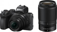 Nikon Z50 Double Zoom KIT 50–250mm f/4.5–6.3 VR & 16-50mm f/3.5-6.3 VR
