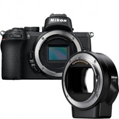 Nikon Z50 KIT FTZ adapter