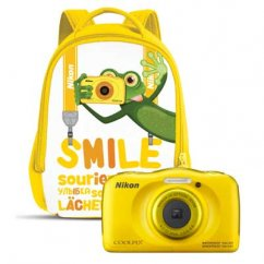 COOLPIX W100 Yellow Backpack kit