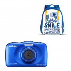 COOLPIX W150 Blue Backpack kit