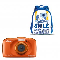 COOLPIX W150 ORANGE Backpack kit