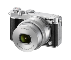 Nikon 1 J5 Black + 10-30mm PD-ZOOM Silver Kit