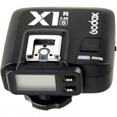 Godox X1R-S 2.4G TTL High Speed Sync Wireless Remote Flash Receiver Compatible for Sony Camera with (X1R-S Receiver)