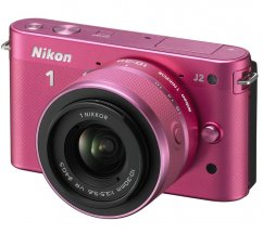 Nikon 1 J2 Pink kit +11-27.5mm +8GB SD-card